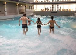 Prächtig planschen – Die Badelandschaft der Sylter Welle